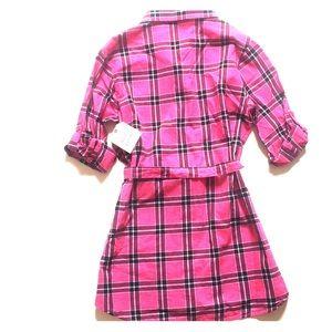 Faded Glory Dresses - FADED GLORY L 10/12 girl button down shirt dress